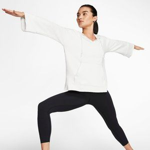 New Nike Women's Cropped Hoodie Yoga Luxe Small